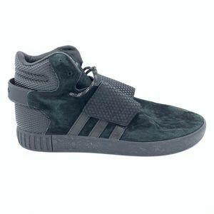 Adidas 11.5 11 12 Tubular Mens Strap Black Shoes